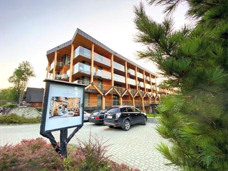 Bachelda Resort Zakopane - nowy luksusowy obiekt z panoramicznym widokiem na Tatry.