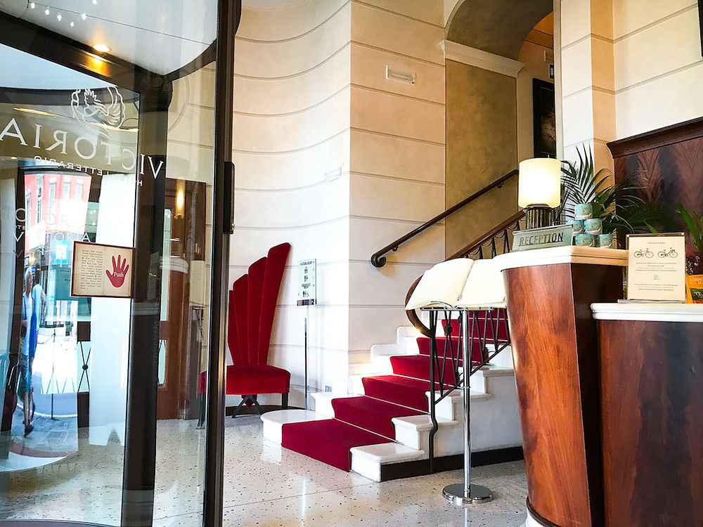 Victoria Hotel  Letterario  - Triest Italia