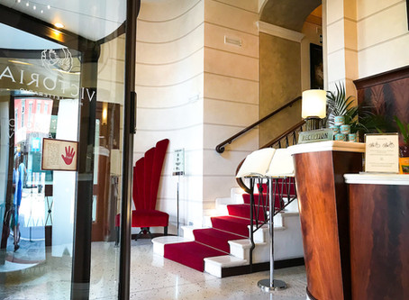 Victoria Hotel Letterario Triest Italia