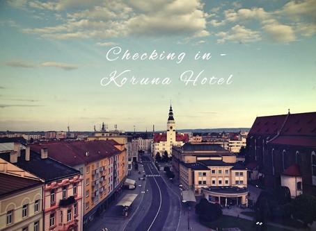 Checking in Koruna Hotel *** - weekend w Opawie