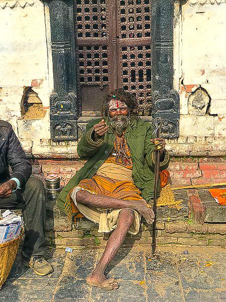 Sadhu -  Arja Ghat Bagmati
