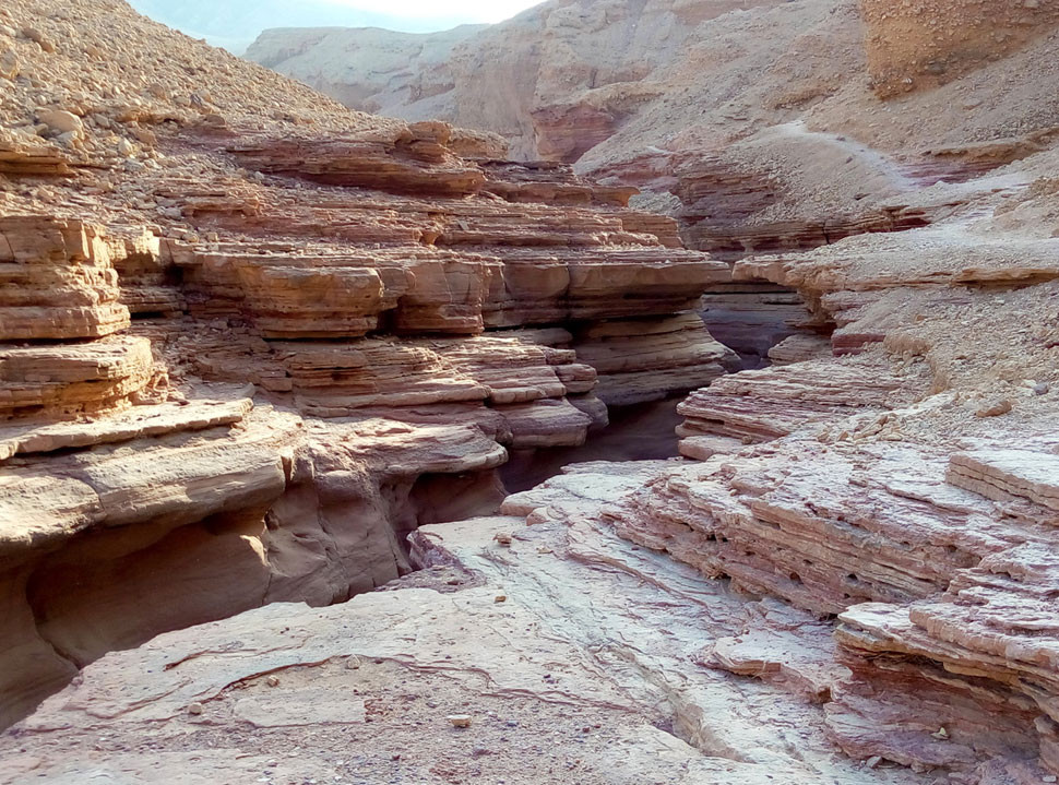 Red Canion Eilat Israel