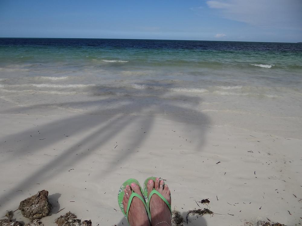 Publiczna plaża Uroa Bay
