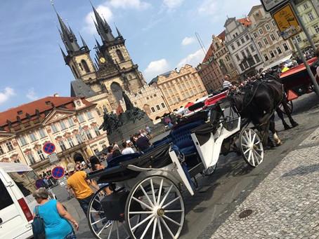 Czeska Praga wosk i czekolada.