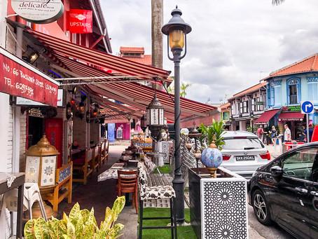 Muscat Street - Arabska ulica w Singapurze