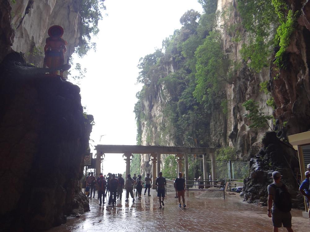 Batu Caves Temple - wejście do Dark Caves