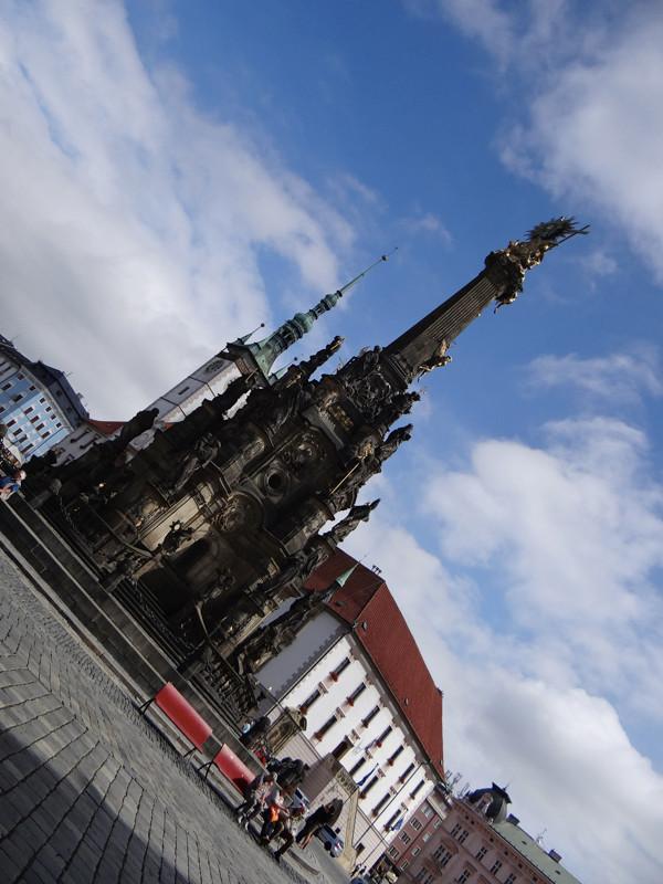 Zabytkowa Kolumna Trójcy Przenajświętszej