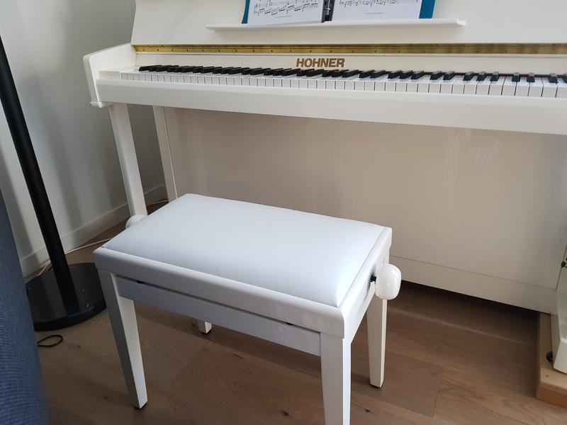 Réfection banquette de piano