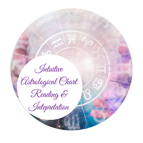 Intuitive Astrological Chart Readings with Interpretation