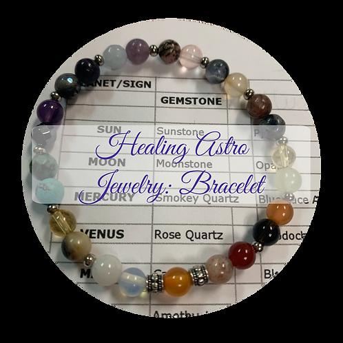 Healing Astro Jewelry: Bracelet