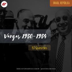 Segundo Governo Vargas 1950-1954