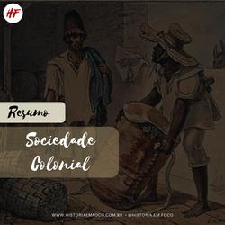 Sociedade Colonial
