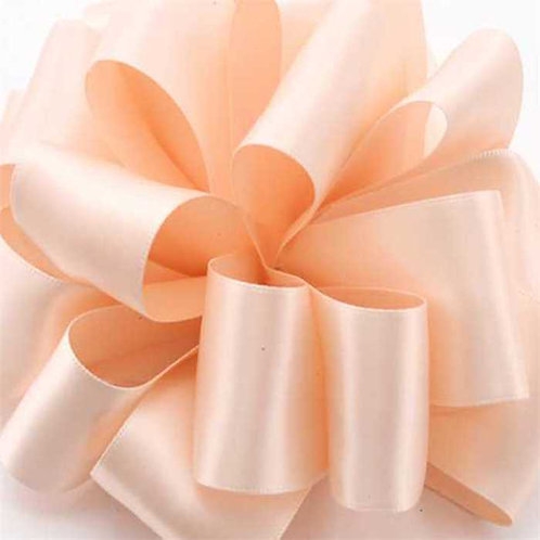 Offray DFS 1/4'' PALE PEACH 100 YARDS