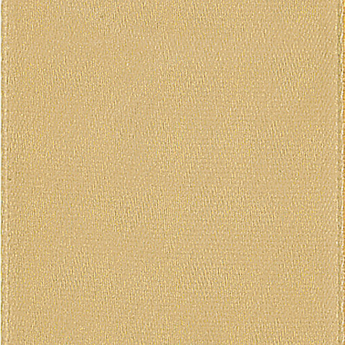 Offray Single Face 3/8'' TAN 100 YARDS
