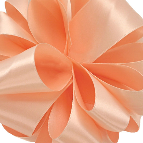 Offray DFS 5/8'' PETAL PEACH 100 YARDS