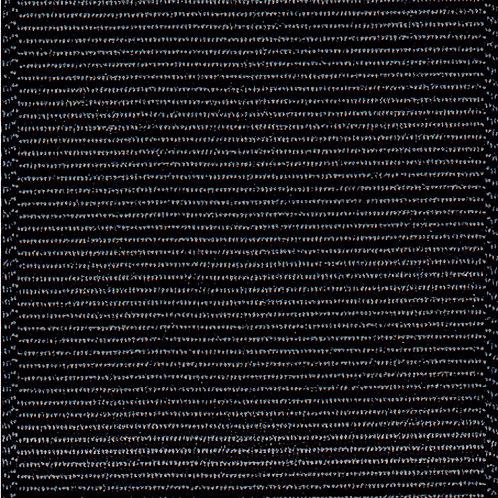Offray GG 1/4'' BLACK 100 YARDS