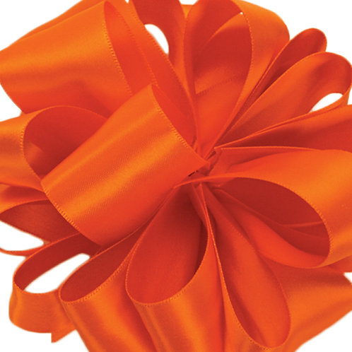 Offray DFS 1 1/2'' TORRID ORANGE 50 YARDS