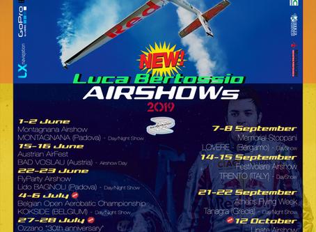 2019 Airshow Calendar NOW ONLINE