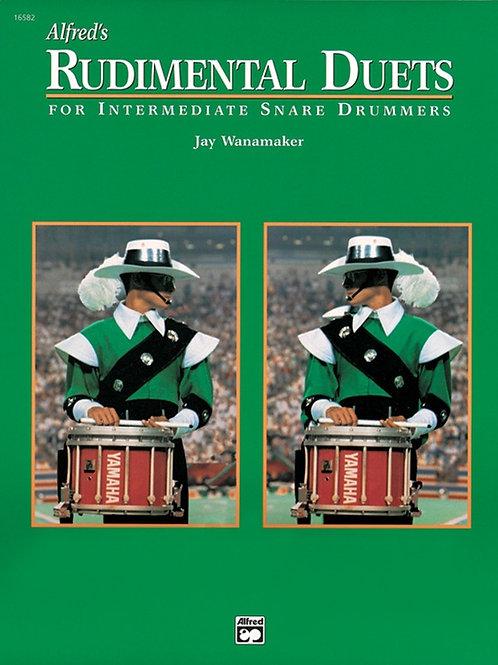 Rudimental Duets Drum Book