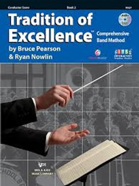 Tradition of Excellence Conductor Book Two