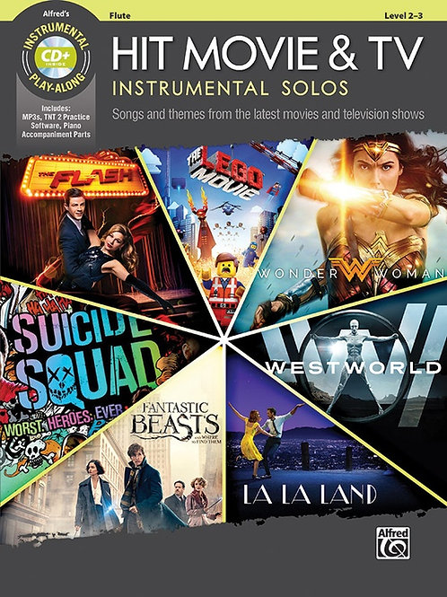Hit Movie & TV Instrumental Solos Instrumental Play-Along