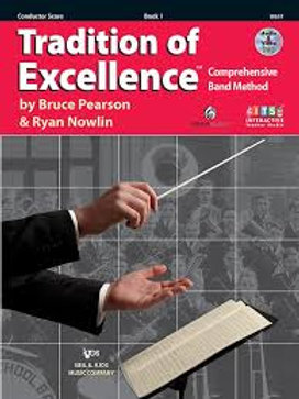 Tradition of Excellence Conductor Book One