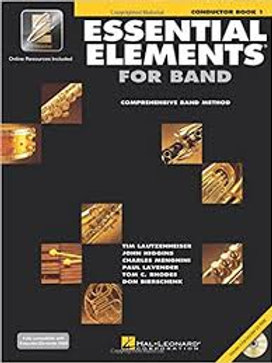 Essential Elements for Band Conductor Book