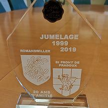 Cadeau Jubilé Romanswiller