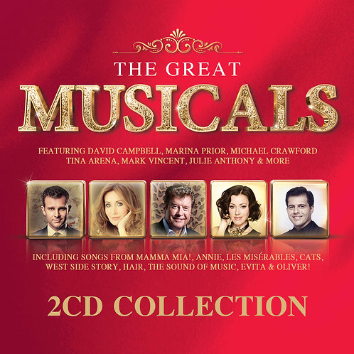 VARIOUS ARTISTS - THE GREAT MUSICALS (2CD)
