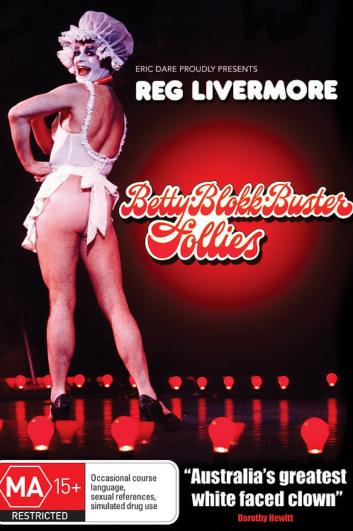 REG LIVERMORE - BETTY BLOKK BUSTER FOLLIES (DVD)