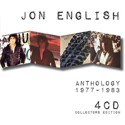 JON ENGLISH - ANTHOLOGY 1977-1983 (4CD)