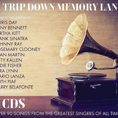 VARIOUS ARTISTS - A TRIP DOWN MEMORY LANE (4CD)
