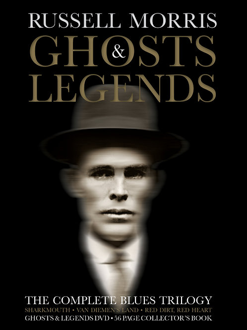 RUSSELL MORRIS - GHOSTS & LEGENDS (DELUXE BOXSET 3CD + 1DVD)