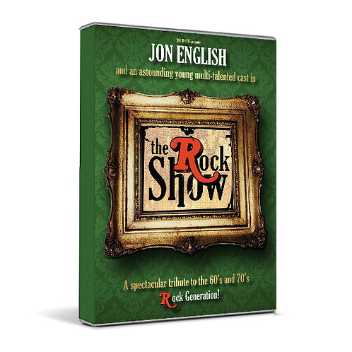 JON ENGLISH - THE ROCK SHOW (DVD)