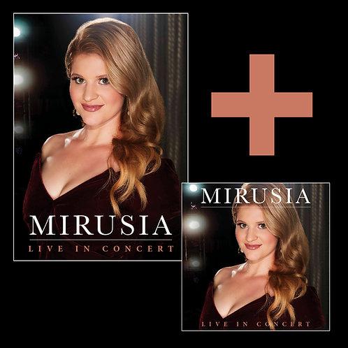 MIRUSIA - LIVE IN CONCERT (CD + DVD BUNDLE)