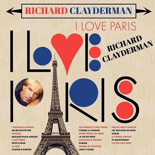 RICHARD CLAYDERMAN - I LOVE PARIS