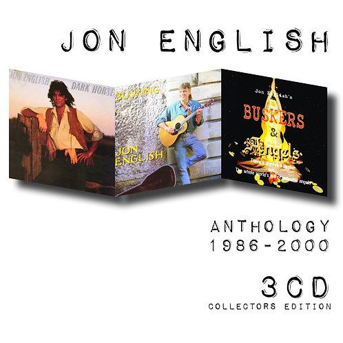 JON ENGLISH - ANTHOLOGY 1986-2000 (3CD)