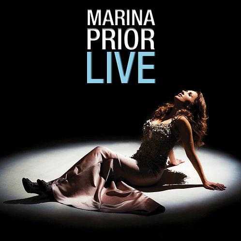 MARINA PRIOR - LIVE (CD)