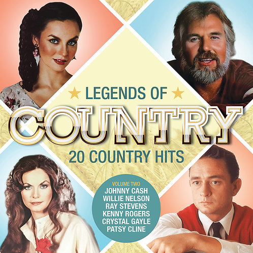 VARIOUS ARTISTS - LEGENDS OF COUNTRY (VOL 2)