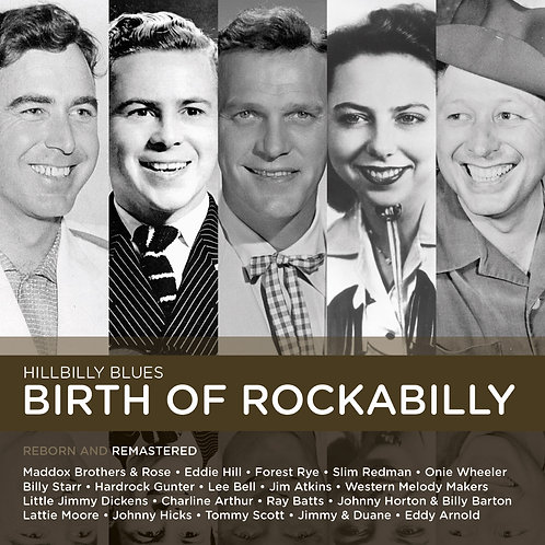HILLBILLY BLUES - BIRTH OF ROCKABILLY
