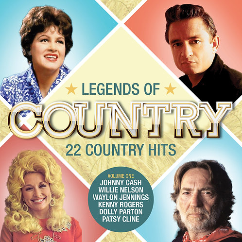 VARIOUS ARTISTS - LEGENDS OF COUNTRY (VOL 1)