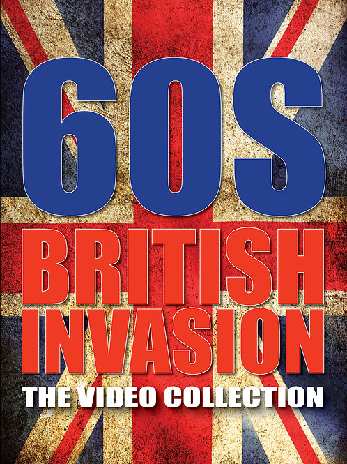 VARIOUS ARTISTS - 60S BRITISH INVASION: THE VIDEO COLLECTION