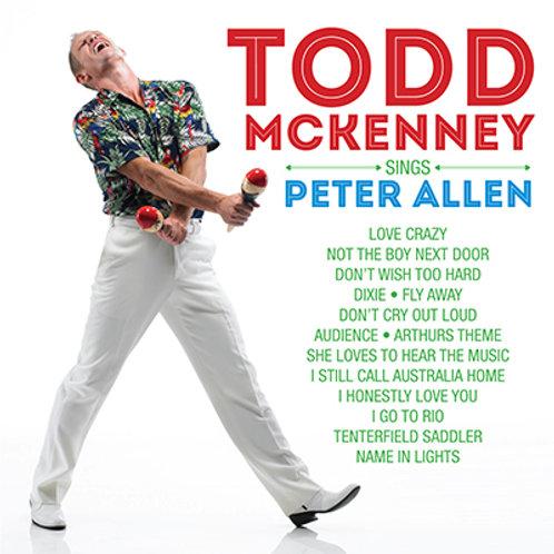 TODD MCKENNEY - SINGS PETER ALLEN