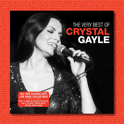 CRYSTAL GAYLE - THE VERY BEST OF (LIVE)
