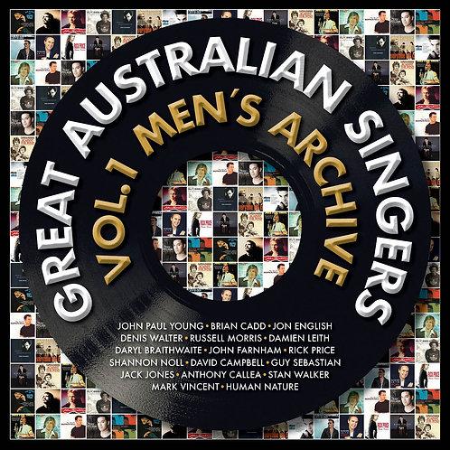 VARIOUS ARTISTS - GREAT AUSTRALIAN SINGERS  (VOL.1 MEN'S ARCHIVE)