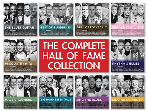 HALL OF FAME - THE COMPLETE COLLECTION (10CD BUNDLE)