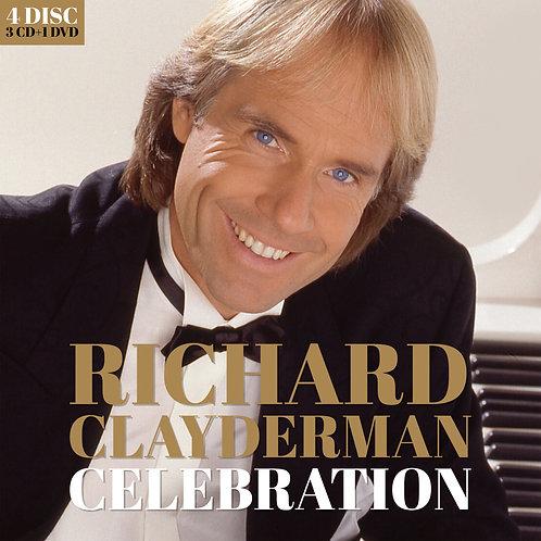 RICHARD CLAYDERMAN - CELEBRATION (3CD + 1DVD)