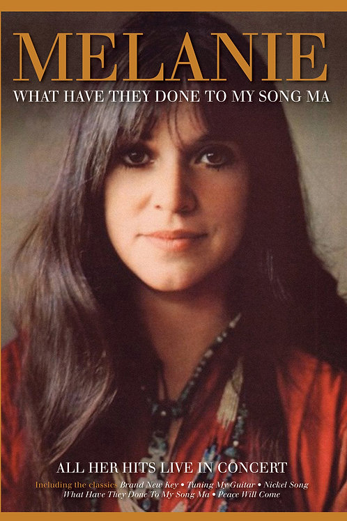 MELANIE - WHAT HAVE YOU DONE TO MY SONG MA (DVD)