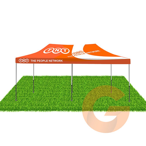 Marquee 6x3 (With Printed Canopy)