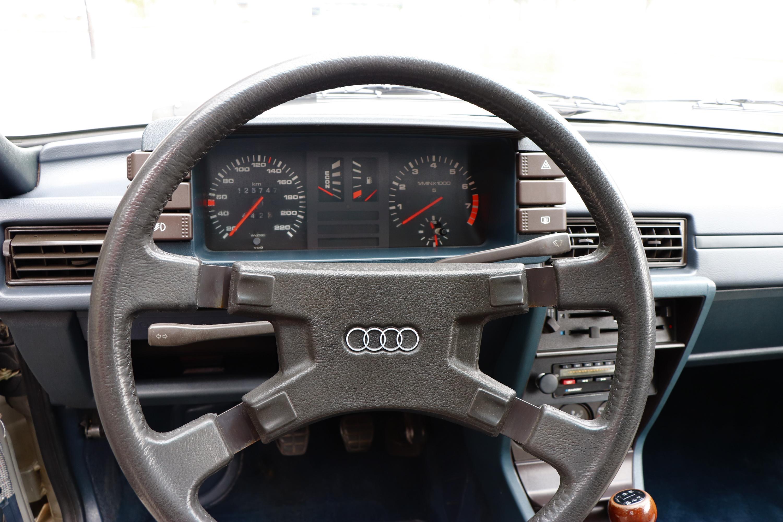 Intérieur Audi coupé GT